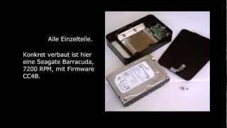 3TB Intenso Platte ausbauen, öffnen, externe Festplatte als interne verwenden, Tutorial thumbnail