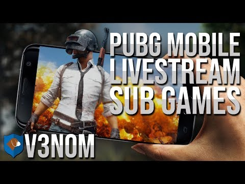 PUBG MOBILE LIVESTREAM , FREE PUBG , SUB GAMES , PUBG INDIA