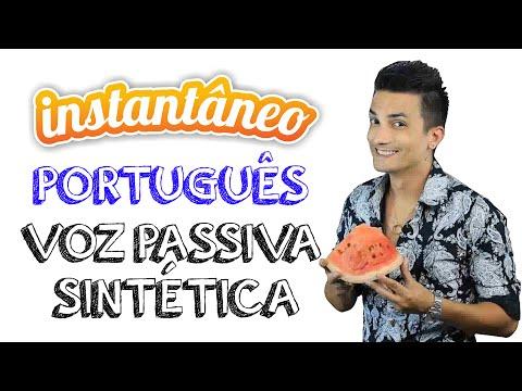 Voz Passiva Sintética - Português - Ávila Oliveira - Instantâneo