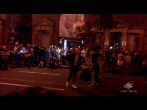 Уличные танцы, Киев, Вечерний Крещатик часть 4 - Street Dance, Kiev, Khreshchatyk Evening part 4