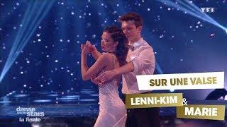 DALS S08 - Lenni-Kim et Marie Denigot dansent une valse sur