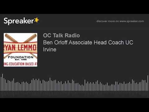 Ben Orloff Associate Head Coach UC Irvine