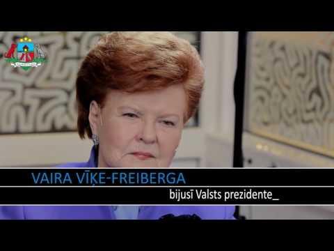 Sunu Buda Artuss Kaimiņš un Vaira Vīķe Freiberga (2015.12.12)