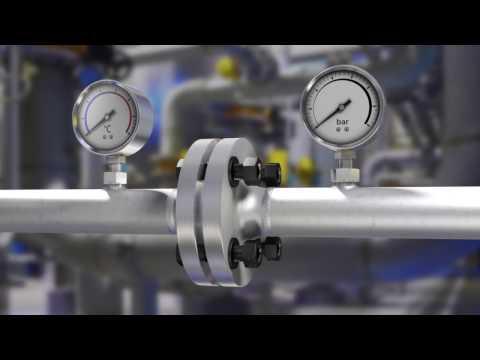 Verfahrenstechnik Rohrleitungsbau Flansch-Dichtung