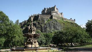 Шотландия: Эдинбургский замок / Scotland: Edinburgh castle(Внутри Эдинбургского замка и вид на город с замковых стен., 2012-07-06T16:31:33.000Z)