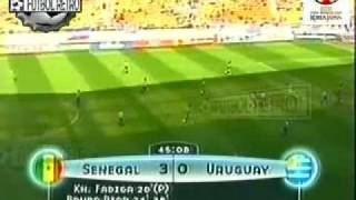Uruguay 3 vs Senegal 3  Korea/Japon 2002 Morales, Forlan, Recoba FUTBOL RETRO TV