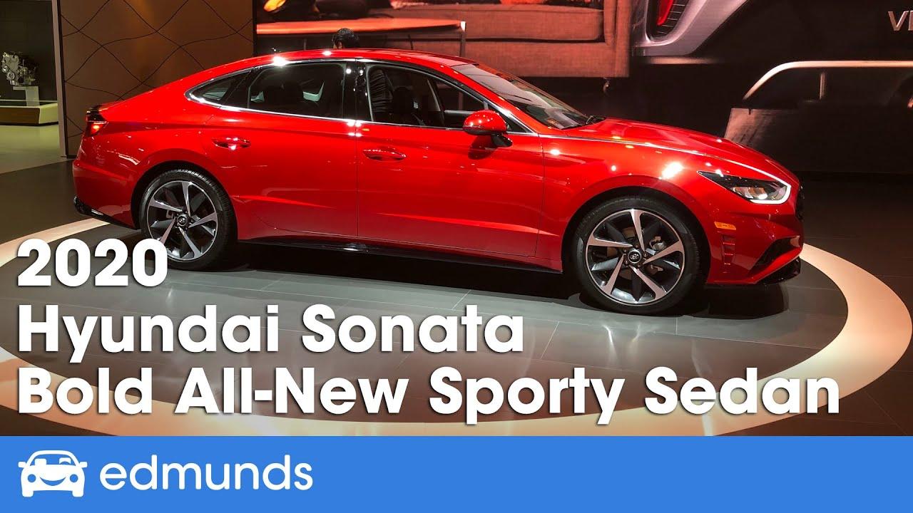 2020 Hyundai Sonata First Look Debut Edmunds