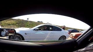 Mustang  дал бой   BMW M3  и  BMW  M5 (Е34) ...  Результаты розыгрыша ...