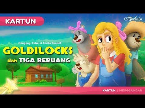 Goldilocks dan Tiga Beruang   Kartun Anak - Dongeng Bahasa Indonesia