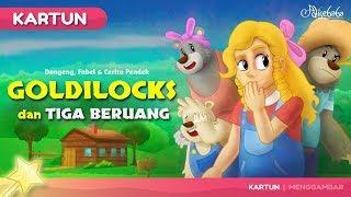Goldilocks dan Tiga Beruang | Kartun Anak - Dongeng Bahasa Indonesia