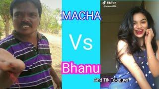 "Agipete Macha Vs Bhanu..And ""Tik Tok guys"" funny Version Troll"