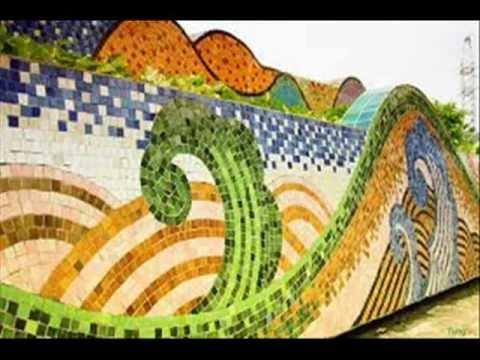 Hanoi ceramic mosaic mural the longest ever in the world for Ceramic mural making
