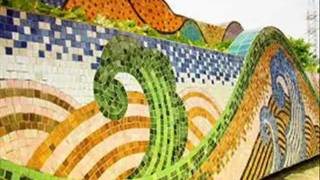 Hanoi Ceramic Mosaic Mural - the longest ever in the world (4 kilometers)