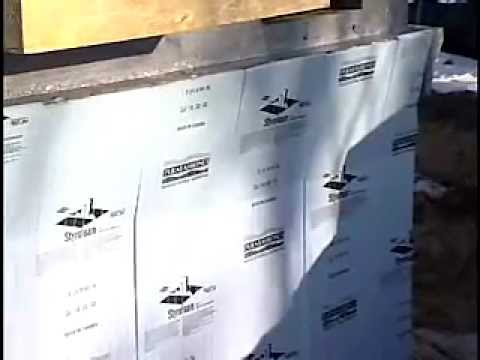 Installing Rigid Foam Insulation At Slabs And Foundations   YouTube