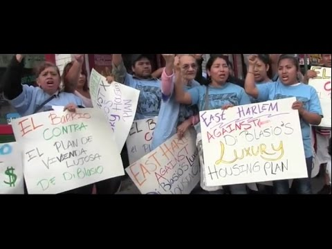 The East Harlem Community Fight Against the Mayor's Rezoning Plan