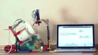 The most advanced Lego Mindstorms tea maker robot