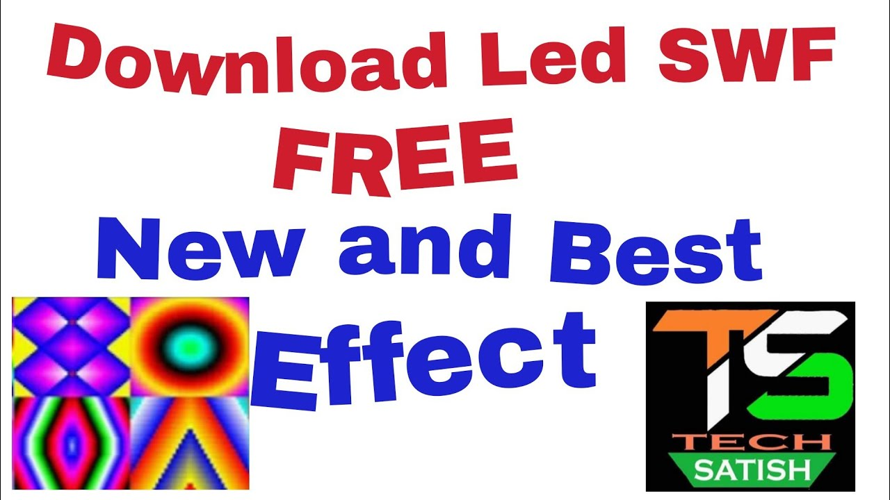Download Led SWF New effect free || LED Edit new effect