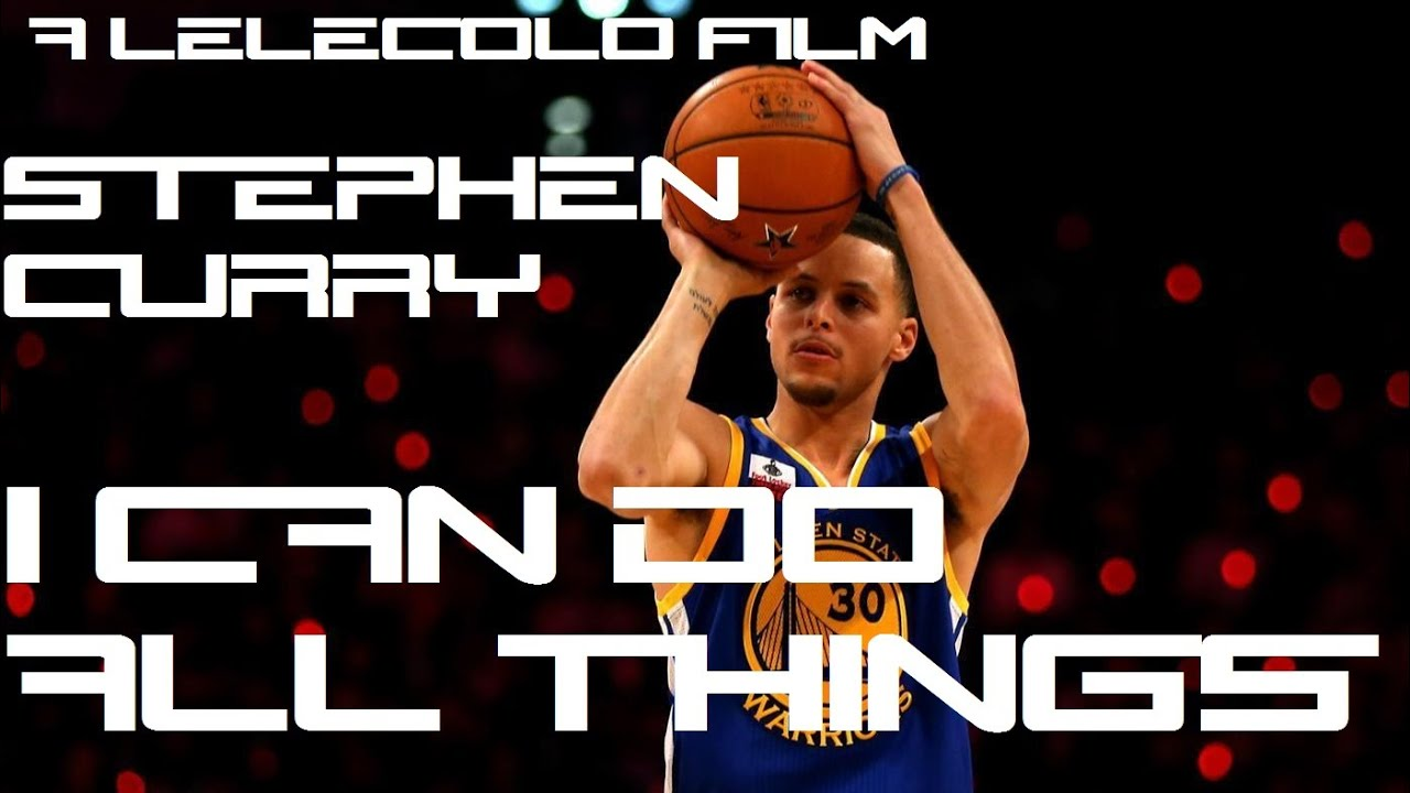 Stephen Curry I Can Do All Things Poster