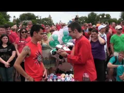 Gay pride week at wdw 2009