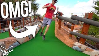 Never Do This At A Mini Golf Course...Mini Golf Hole in One and Bad Ideas