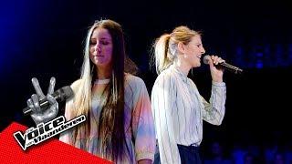 Cézanne en Cherine zingen 'Sorry' | The Battles | The Voice van Vlaanderen | VTM