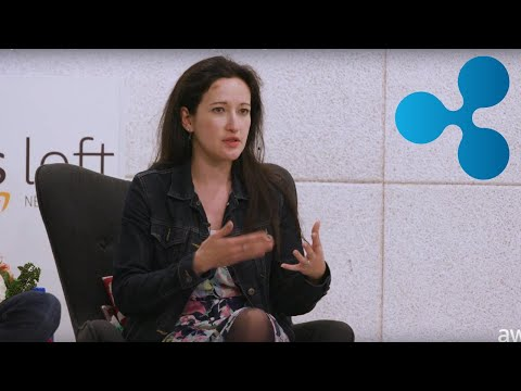 Ripple XRP Talking At Amazon Event. Vanessa Alexandra Director Of Strategic Growth At Xpring Ripple