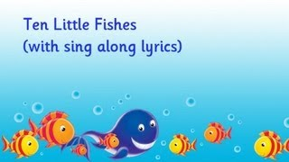 Ten Little Fishes