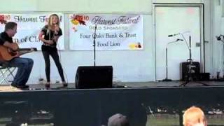 "Addie Williams singing ""Undo It"" by Carrie Underwood at Clayton Idol 2010"