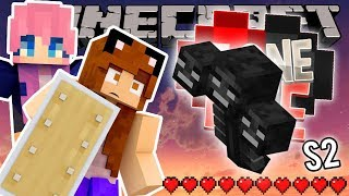FIGHTING THE WITHER WITH LIZZIE! | Minecraft One Life SMP | Episode 32