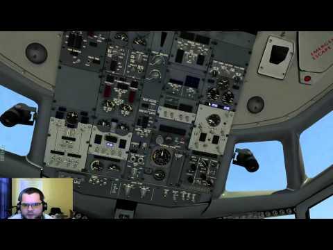 FlyJSim 732 TwinJet Full Flight KLAX - KLAS on PilotEdge