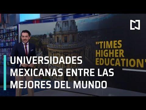 Las mejores universidades de México - Las Noticias con Claudio Ochoa