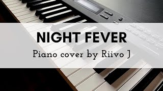 Bee Gees - Night Fever (Piano Cover)