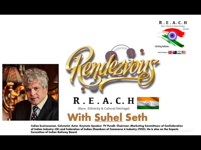 Suhel Seth at Rendezvous with REACH 🇮🇳