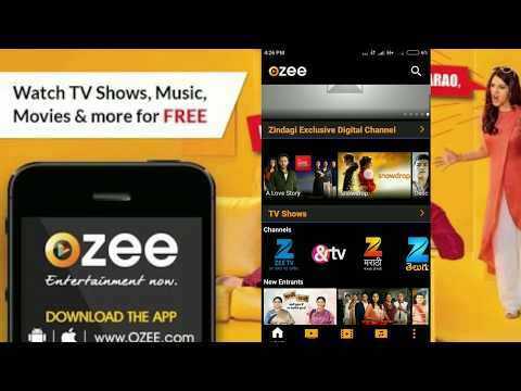 ozee app | Features | Hindi