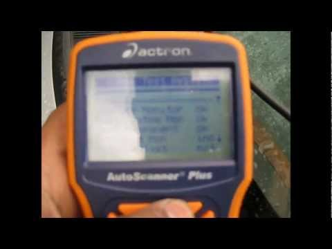 Actron cp9580 obd2 scanner,howto use