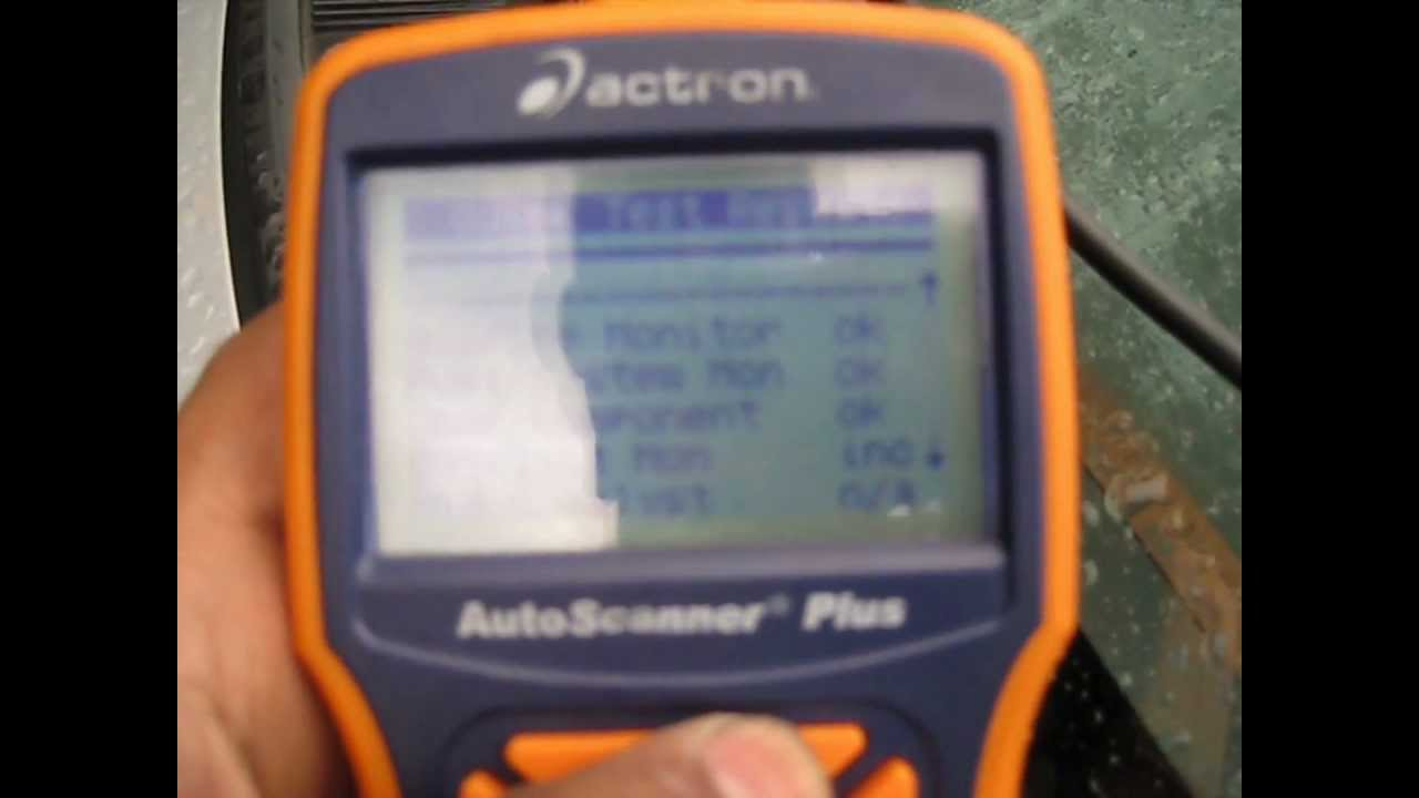 Actron Cp9580 Obd2 Scanner Howto Use Youtube