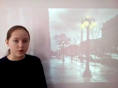 Изображение предпросмотра прочтения – ЮлияСоловьева читает произведение «Ночь, улица, фонарь, аптека…» А.А.Блока