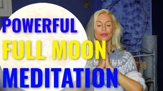 Powerful Full Moon Meditation For Manifestation