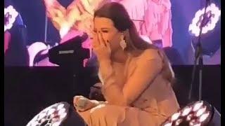 Nancy Ajram Kuwait 2018 ضحكة نانسي عجرم لرقص لأغنية شخبط شخبيط حفلة عيد الأضحى الكويت