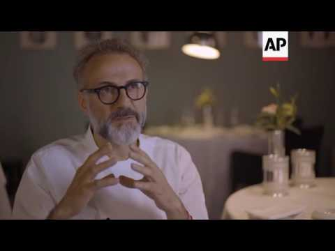 Award to avant garde chef rocks Italy's food culture