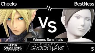 USW 5 - FRKS   Cheeks (Cloud) vs Armada   BestNess (Wii Fit, Richter) Winners Semifinals - SSBU