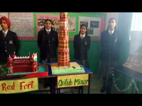 State Public School Shahkot, Exhibition on Historical Monuments of India & Tunisia...