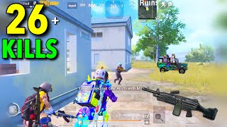 M249 is SUPER BEST of WIPE OUT SQUADS | PUBG MOBILE