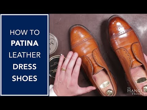 How To Antique Dress Shoes