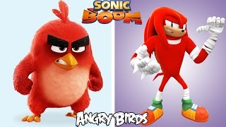 Repeat youtube video Angry Birds As Sonic Boom Characters - Sonic Characters in Angry Birds