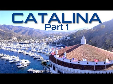 CATALINA ISLAND TOUR (AVALON) BY DRONE - PART 1