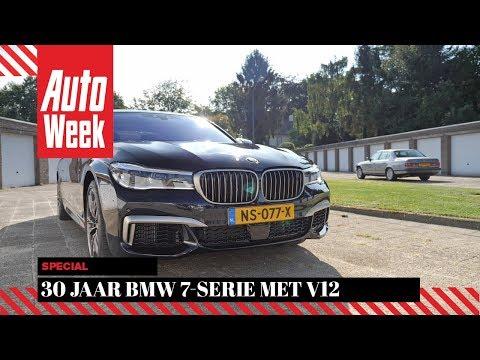 30 Jaar BMW 7-serie met V12 - AutoWeek Special - English subtitles