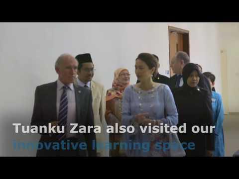 Royal Visit to UNMC! Her Royal Highness Tuanku Zara