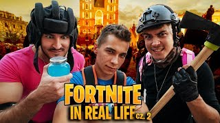 FORTNITE IN REAL LIFE! (IN REAL LIFE) with REZI and IZAK