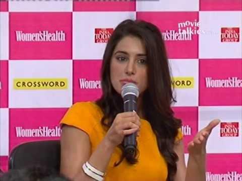 'Rockstar' Girl Nargis Fakhri At Women's Health Magazine Launch